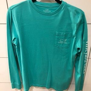 Vineyard vines long sleeve youth large